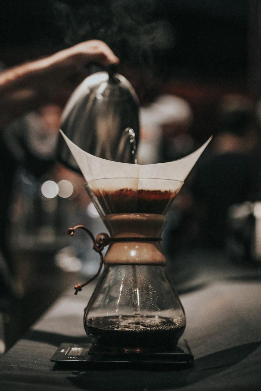 Making Coffee Old Fashion Way