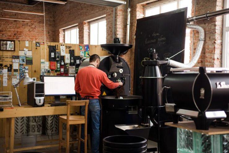 Calipso Coffee, обжарка кофе